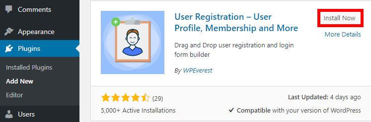 woocommerce registration form user registration