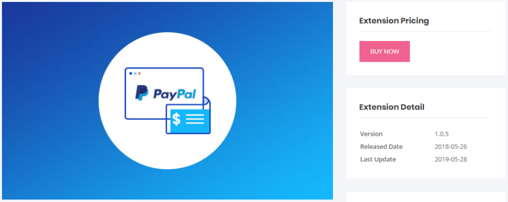 PayPal Standard add on