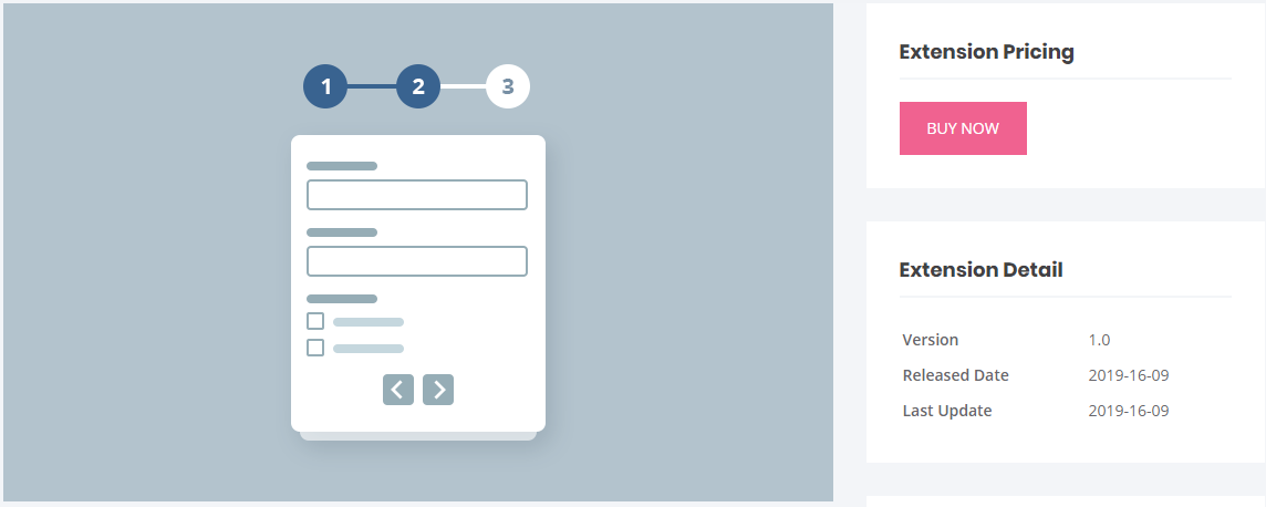 User Registration Multi Part