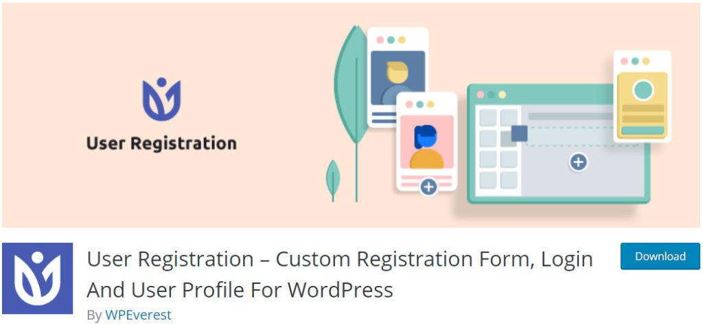 User-Registration-WordPress-Frontend-User-Profile-Plugin