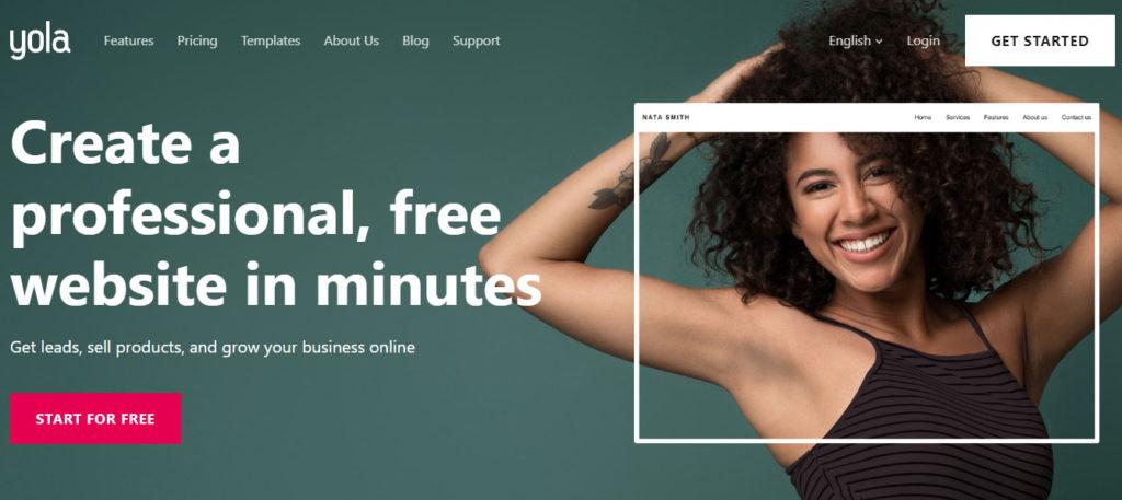 Yola best free blogging platform