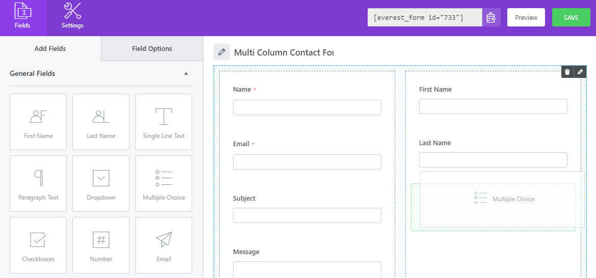 wordpress-form-with-2-column-layout