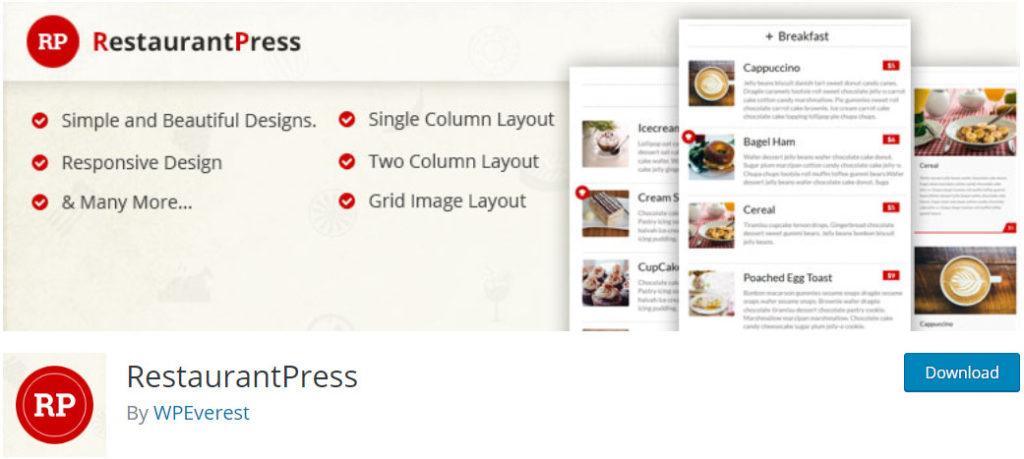 RestaurantPress-WordPress-restaurant-menu-plugin