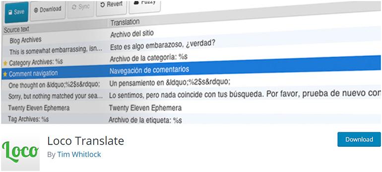 Loco-Translate-WordPress-translation-plugins