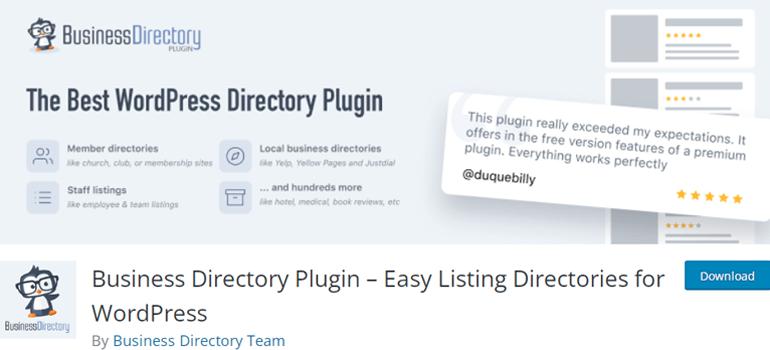 Business Directory Plugin Top WordPress Listing Directory Plugin