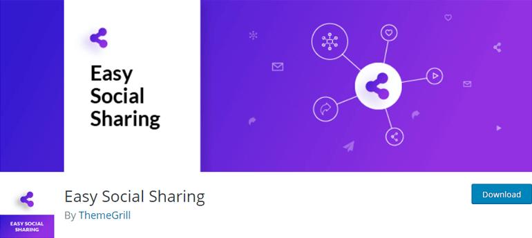 Easy Social Sharing Best WordPress Social Sharing Plugins