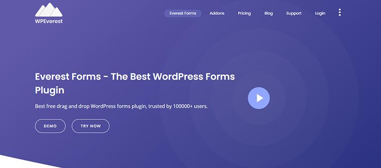 Everest-Forms-WordPress-plugin