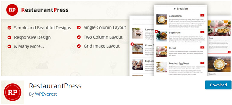RestaurantPress-WordPress-Restaurant-Plugins