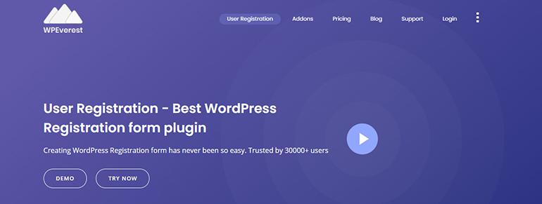 User-Registration-WordPress-Plugin