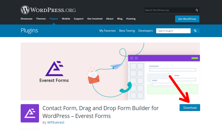 Download Everest Forms Plugin Free
