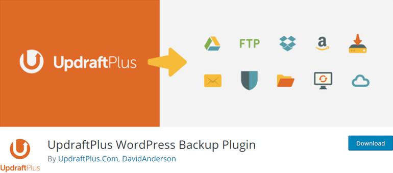 UpdraftPlus Backup Plugin