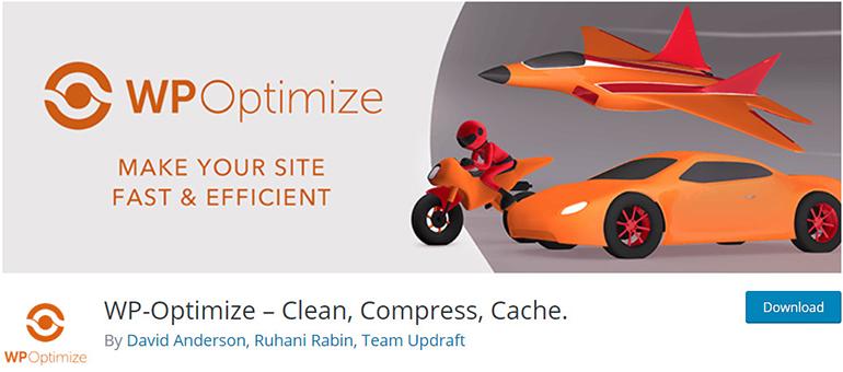 WP Optimize WordPress Plugins to Increase Site Speed