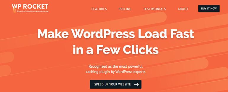 WP Rocket WordPress Speed Optimization Plugins