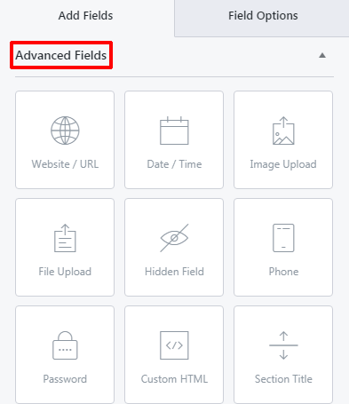 Advanced Fields