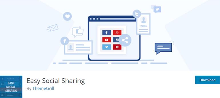 Easy Social Sharing Social Share Plugin