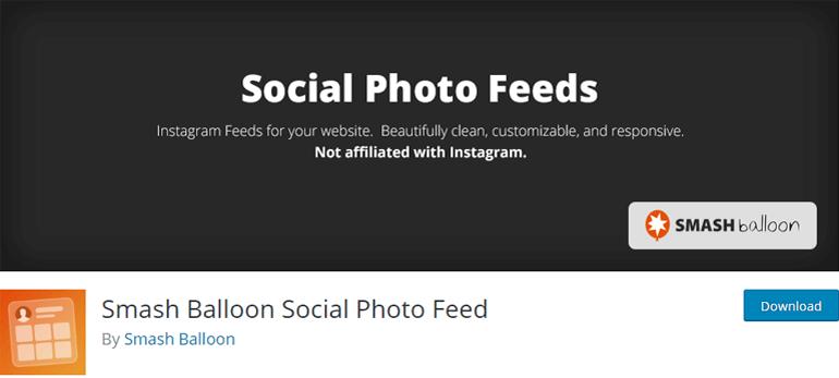 Instagram Feed Social Media Plugin