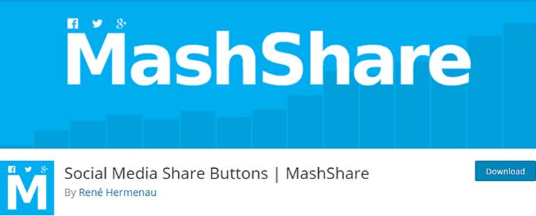 MashShare Social Sharing Plugin