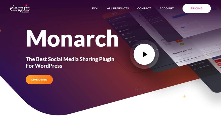 Monarch Social Sharing Plugin
