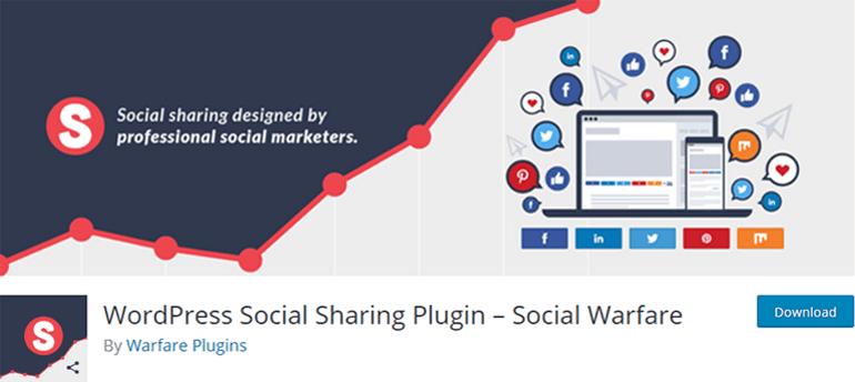 Social Warfare Social Sharing Plugin