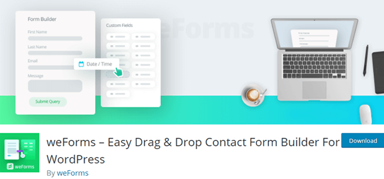 weForms Form Builder
