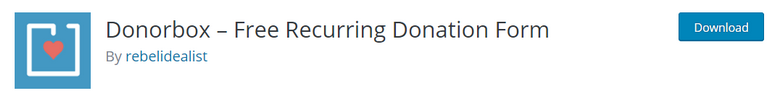 DonorBox WordPress Fundraising Plugin
