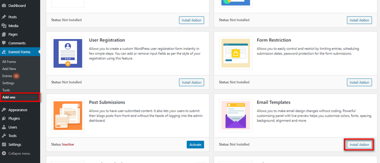 Email-Templates-addon