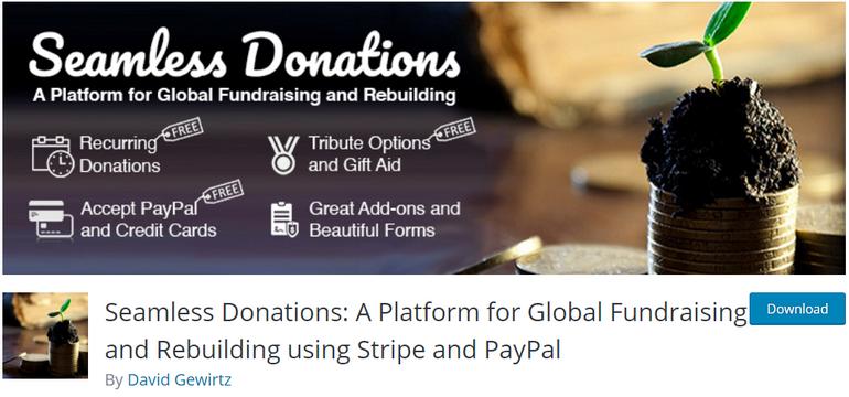 Seamless Donations WordPress