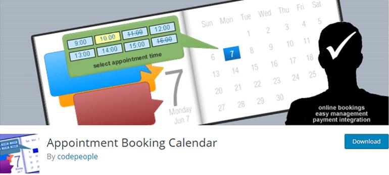 Appointment Booking Calendar Plugin