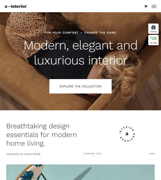 Avada Versatile eCommerce Theme
