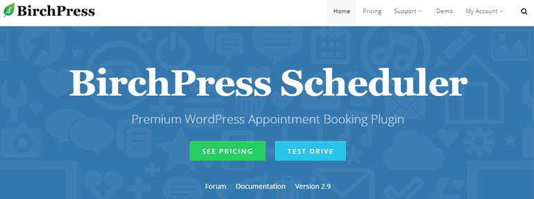 BirchPress Scheduler Appointment Booking Plugins