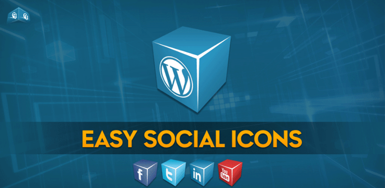 Easy Social Icons WordPress Plugin