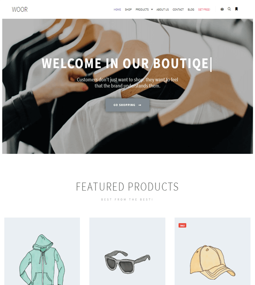 Rife Free WooCommerce Theme Demo