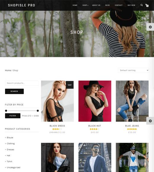 ShopIsle WooCommerce Theme