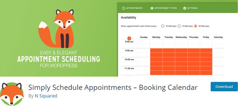 Simply Schedule Appointments Booking Plugins