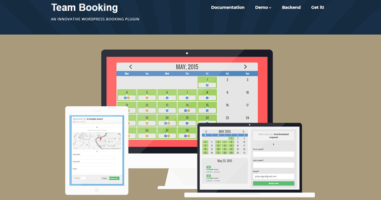 Team Booking Appointment Booking Plugins