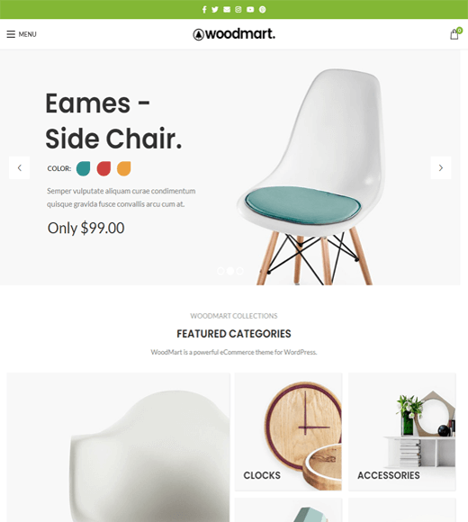 WoodMart Premium WooCommerce Theme