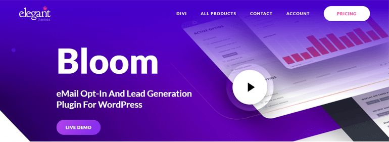 Bloom WordPress Newsletter Plugin