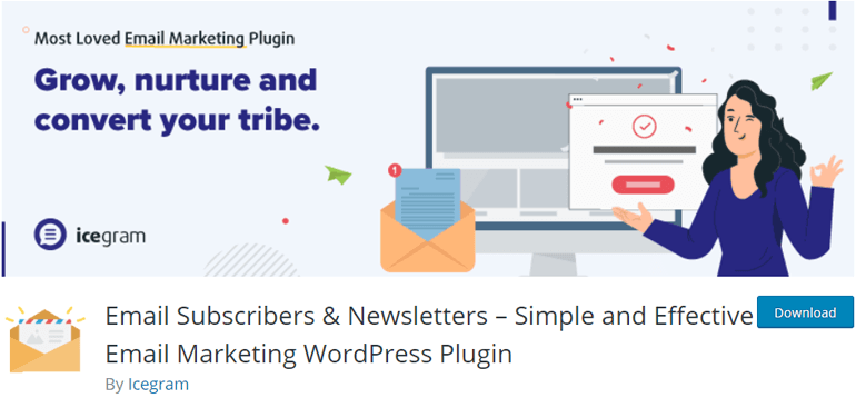 Email Subscribers WordPress Newsletter Plugin