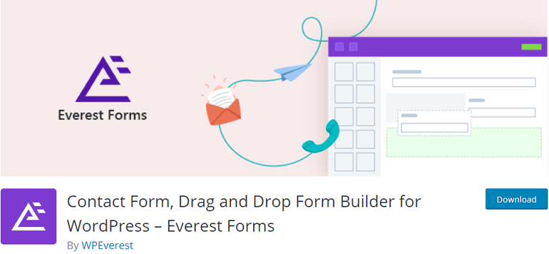 Everest Forms Newsletter Plugin