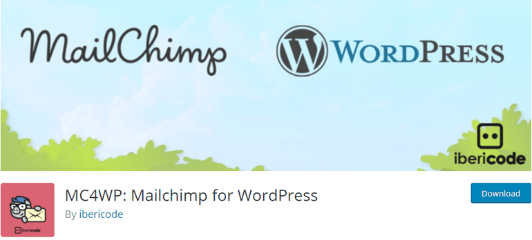 MailChimp WordPress Newsletter Plugin