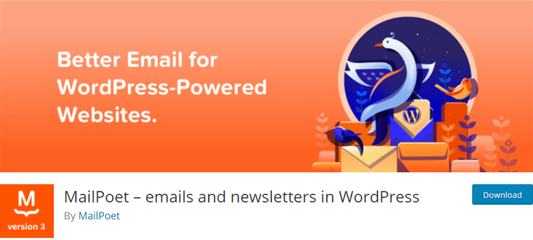 MailPoet WordPress Newsletter Plugin