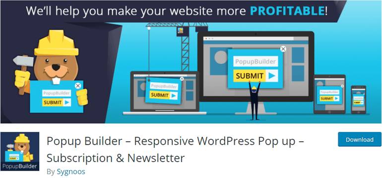Popup Builder WordPress Newsletter Plugin