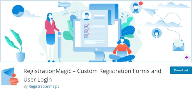 Registration Magic WooCommerce Registration Form Plugin