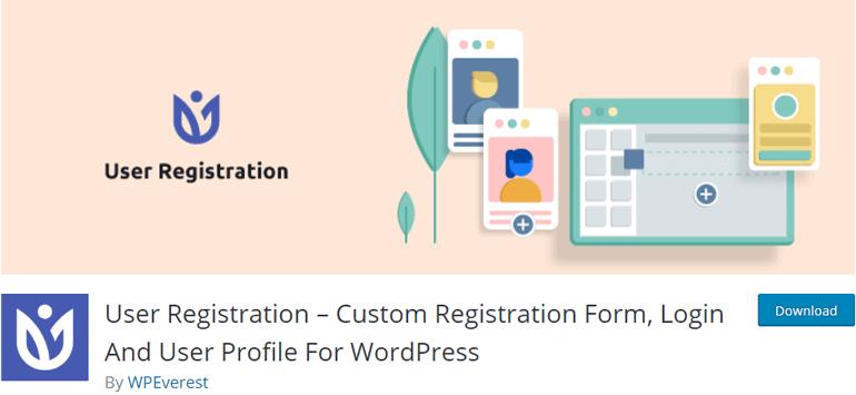 User Registration WooCommerce Registration Form Plugin