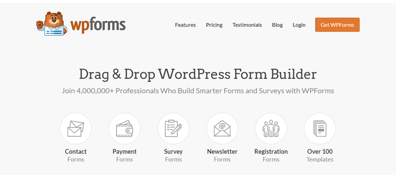 WPForms Form Builder Plugin