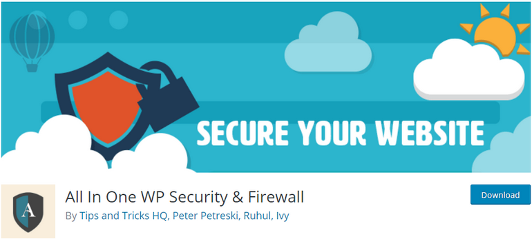 All-in-One-WP-Security-Firewall-Plugin