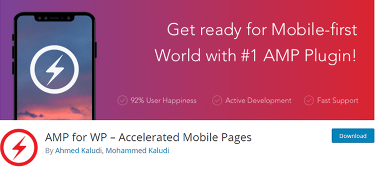 AMP for WP: Accelerated Mobile Page