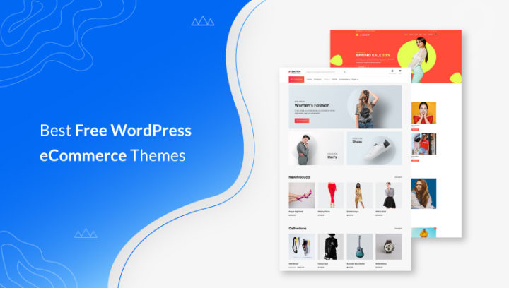 20+ Best Free eCommerce Themes and Templates 2021