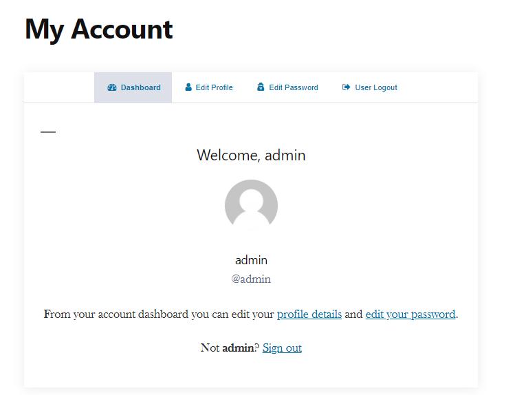 Custom-User-Profile-Page-WordPress