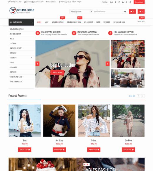Online-Shop-WordPress-Theme-Free